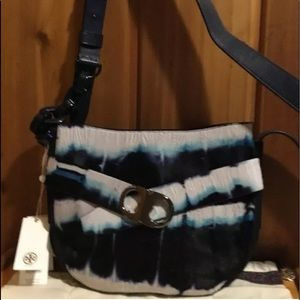 TORY BURCH Gemini Link Tie Dye Leather Crossbody